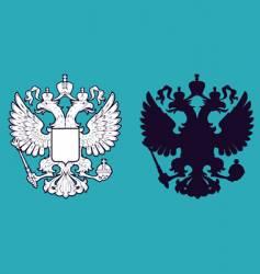 eagles shield vector image