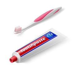 Dental symbol vector image vector image