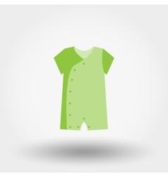Infant Bodysuit Icon vector image vector image