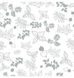 natural background from the leaves vector image vector image