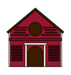 Ranch house icon image vector