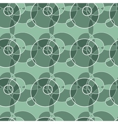 Seamless pattern made of circle background vector image vector image