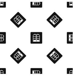 Shop security anti theft sensor gates pattern vector