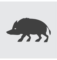 Boar icon vector image