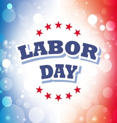 Labor day america banner 2 vector