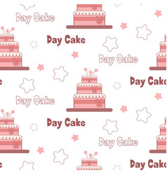 A festive poster to the international day of cake vector