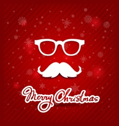 creative graphic poster for your design Christmas vector image vector image