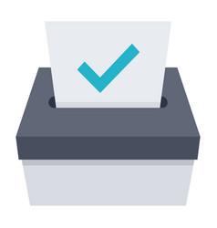 election icon vector image