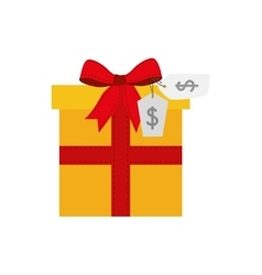 Shopping gift commerce icon graphic vector