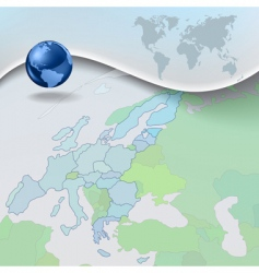 geograph background vector image
