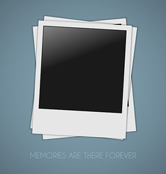 Photos template vector