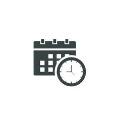 Calendar icon simple vector