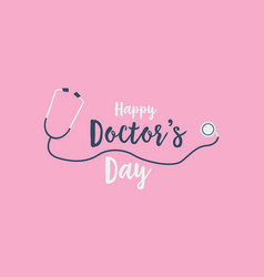Collection stock world doctor day card vector