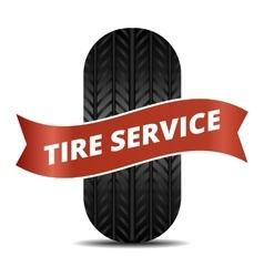 Tire service logo vector