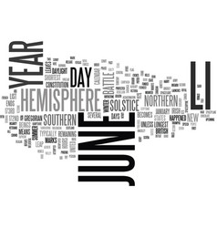 What happened on june text word cloud concept vector