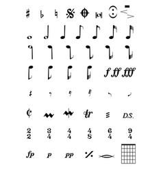 Notes vector