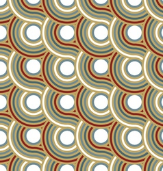 circle spiral pattern background vector image