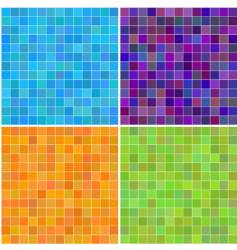 Square tiles vector