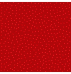 Seamless pattern with red hearts background vector image vector image