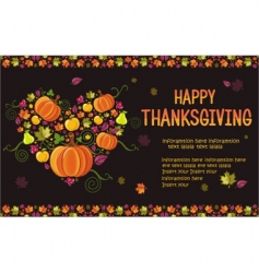 thanksgiving design vector image