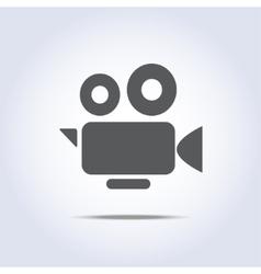 Video camera icon camcorder symbol vector