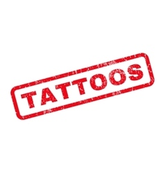 Tattoos rubber stamp vector