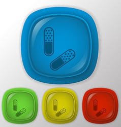Pill tablet vector