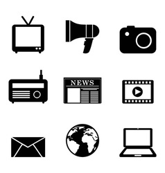 media design vector image