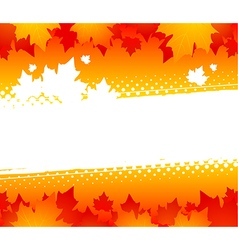 Autumn abstract background vector