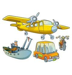 Vehicle collection vector