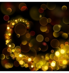 Abstract background with bokeh effect vector image vector image