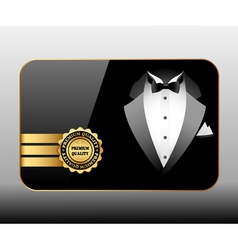 card premium quality vector image vector image