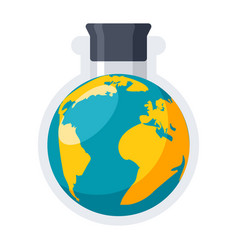 Geochemistry icon vector