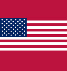 Image of american flag flag usa us flag stripes vector