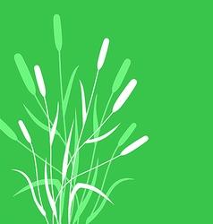 Grass back vector