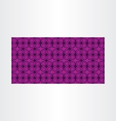 Purple abstract background with spirals vector