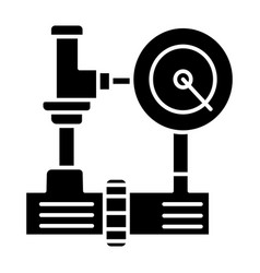 water pressure system - industry icon vector image