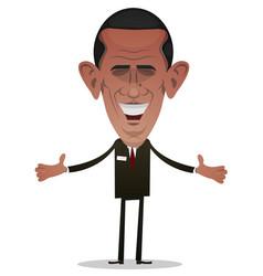 President obama character vector