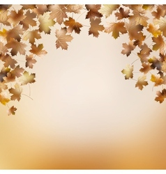 Abstract autumnal backgrounds template eps 10 vector