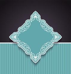 decorative background 1803 vector image