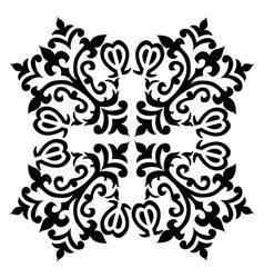 Antique ottoman turkish pattern design fifty eight vector