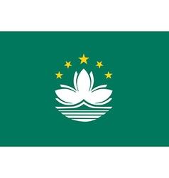 Macao flag vector