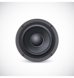 Speaker isolated vector