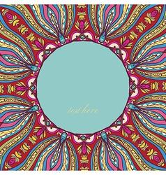 Circle Ornament vector image