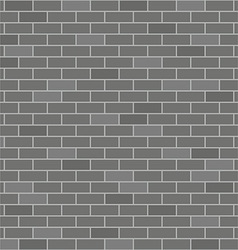 Black brick wall vector image