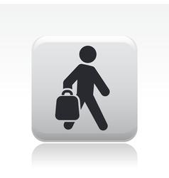 buy bag icon vector image