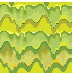 Oozing green slime seamless pattern vector image vector image