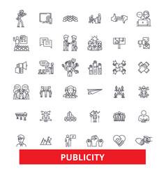 Public relations contact reputation vector