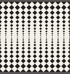 rhombus halftone seamless geometric pattern vector image