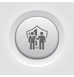 Secure deal icon vector